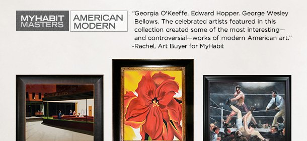 MYHABIT MASTERS: AMERICAN MODERN, Event Ends August 31, 9:00 AM PT >