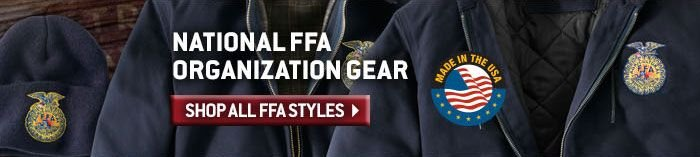 Click Here To Shop All National FFA Organization Gear
