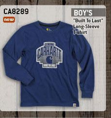 Boy's Built To Last Long Sleeve T-Shirt