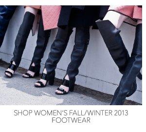 Shop Women's Fall/Winter 2013 Footwear