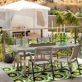 Outdoor Living: Furniture & Rugs