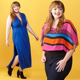 Pattern-Packed: Plus-Size Apparel