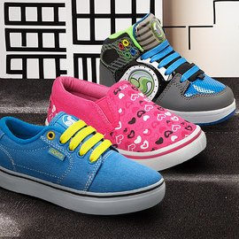 Skater Style: Kids' Shoes