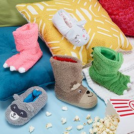 Cozy Feet: Toddler Slippers