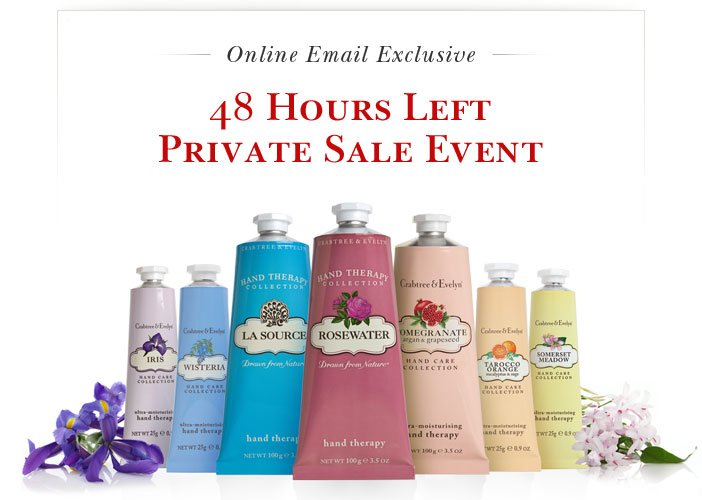 48 hours left Private Online Sale.