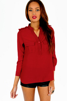 MADELYN UTILITY BLOUSE 30