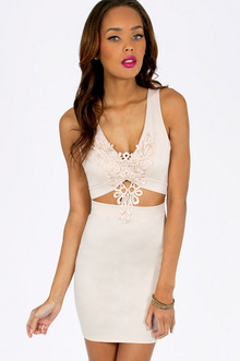 IN TOO DEEP V BODYCON DRESS 37