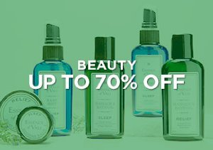 Up to 70% Off: Beauty