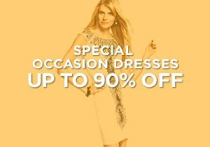 Up to 90% Off: Special Occasion Dresses