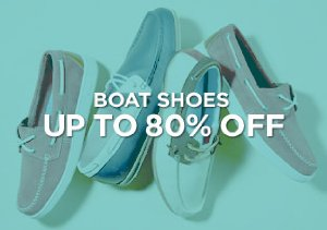 Up to 80% Off: Boat Shoes