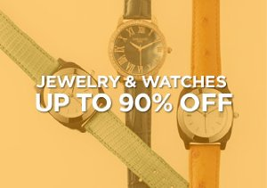 Up to 90% Off: Jewelry & Watches
