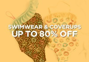 Up to 80% Off: Swimwear & Coverups