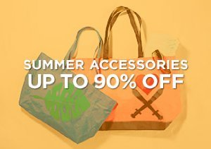 Up to 90% Off: Summer Accessories