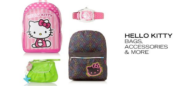 HELLO KITTY: BAGS, ACCESSORIES & MORE, Event Ends September 2, 9:00 AM PT >
