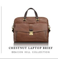 Chestnut Laptop Brief - Shop Now