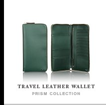 Travel Leather Wallet - Shop Now