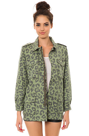 The Safari Jacket in Green. Click to Buy.