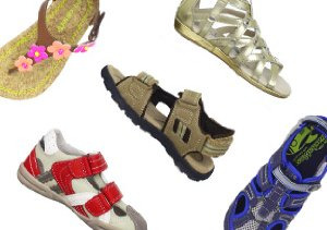 Starting at $9: Kids' Sandals
