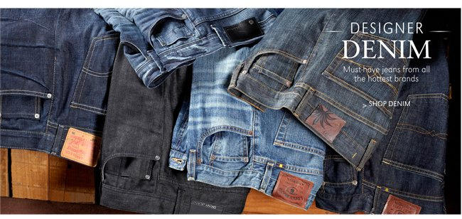 DESIGNER DENIM | MUST-HAVE JEANS FROM ALL THE HOTTEST BRANDS | SHOP DENIM