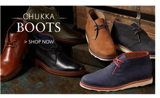 CHUKKA BOOTS | SHOP NOW