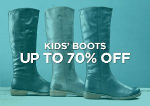 Up to 70% Off: Kids' Boots