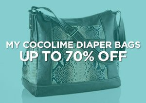 Up to 70% Off: My Cocolime Diaper Bags