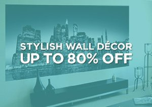 Up to 80% Off: Stylish Wall Décor