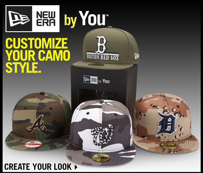 Customize your camo style.