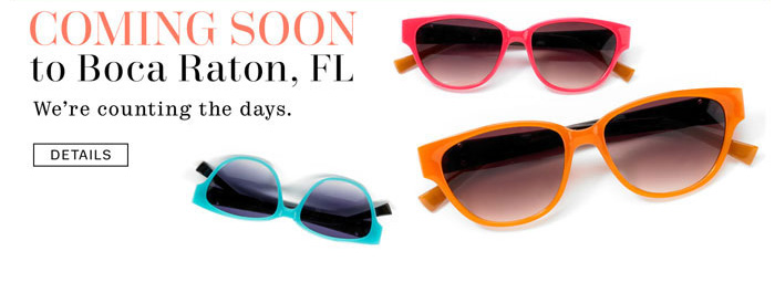 Coming soon to Boca Raton, FL. We're counting the days. Details.