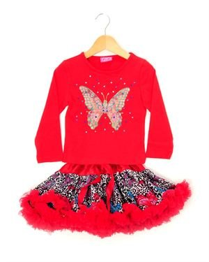 Gigi Toddler Girl's Blouse & Skirt Set