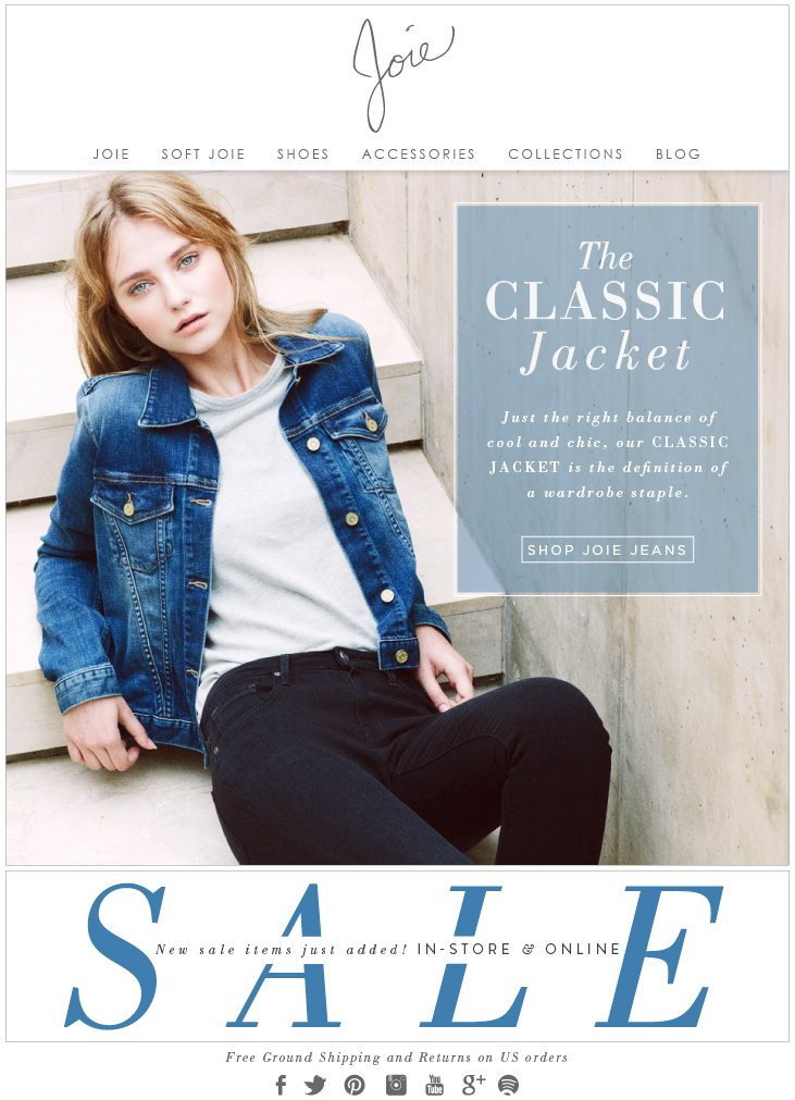 The CLASSIC Jacket - Just the right balance of cool and chic, our CLASSIC JACKET is the definition of a wardrobe staple. - SHOP JOIE JEANS
