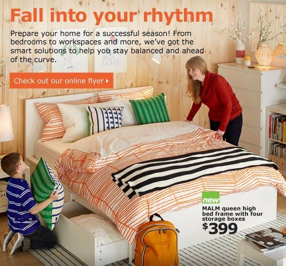 Fall into your rhythm