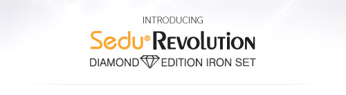 Introducing the Sedu Revolution Diamond Iron Set
