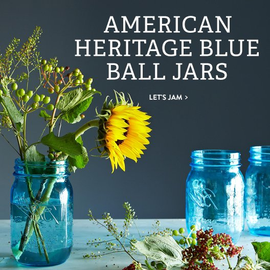 American Heritage Blue Ball Jars