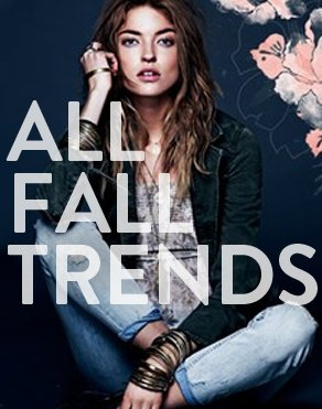 ALL FALL TRENDS