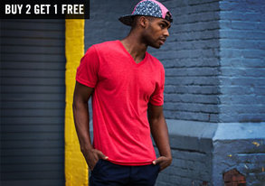 Shop Classic Tees ft. Crew & V-Necks