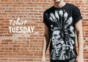 Shop T-Shirt Tuesday ft. Rook