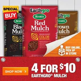 4 for $10 Earthgro Mulch