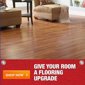 Give your room a flooring upgrade