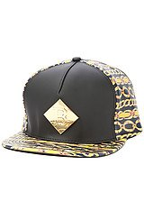The Gold Gang Hat in Black