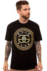 The Gold Chain Gang Big Tee in Black