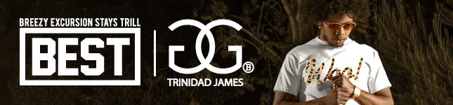 Shop New Breezy Excursion x Trinidad James 'GOLDGANG' Drop