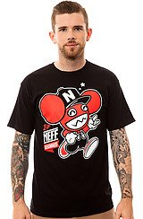 The Neffmau5 2-Up Tee in Black and Red