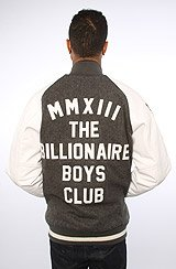The MMX111 Varsity Jacket in Heather Charcoal