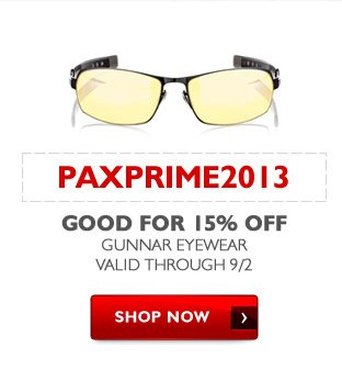PAXPRIME2013 - Good for 15% Off