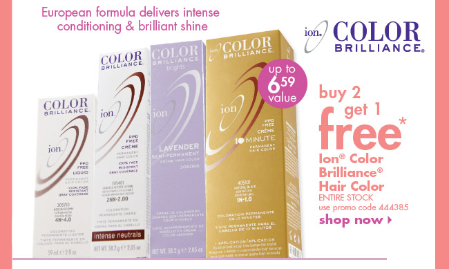 Ion Color Brilliance Hair Color