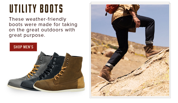 Utility Boots - Shop Men's
