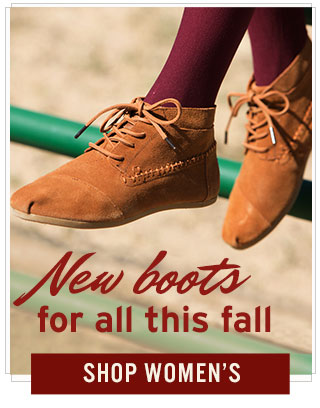 New Boots for all this fall - Shop Women's