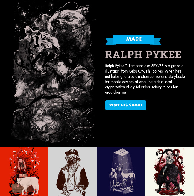 Ralph Pykee - Visit his shop.