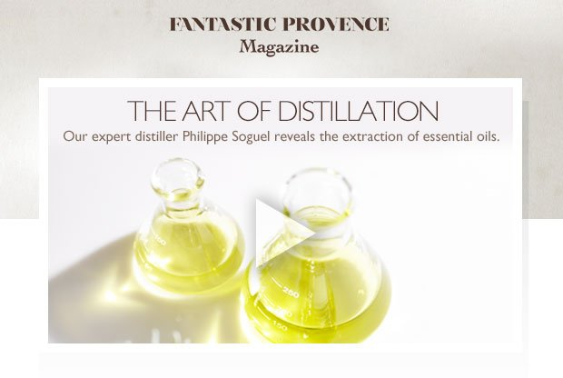 The Art of Distillation. Our expert distiller Philippe Soguel reveals the extraction of essential oils.